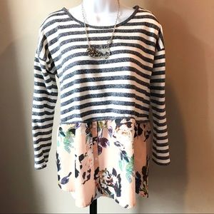 Layered Look Shirt in Size L